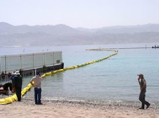 Oil Spill Exercise in the Gulf of Eilat