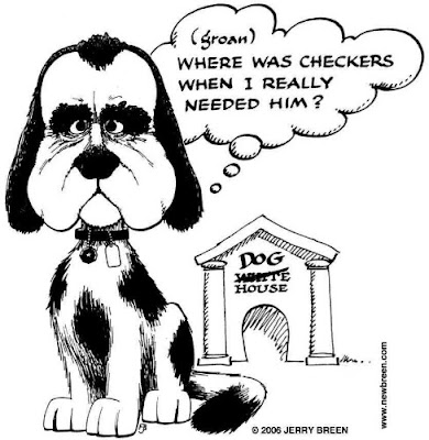 My all-time favorite political cartoon, from around the time of Nixon's