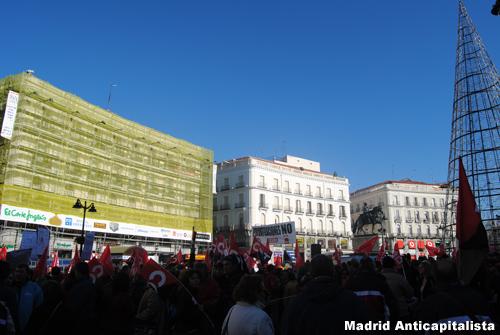 [FOTOS] Huelga y concentración de los trabajadores de las instalaciones deportivas municipales de Madrid 2