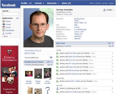 Hati-hati, Timeline Facebook Bisa Permalukan Anda!