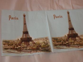 Guardanapo de PARIS
