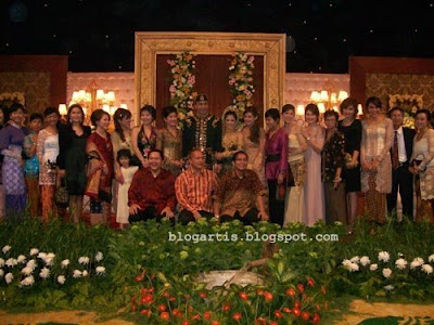 foto pernikahan Meutya Hafid