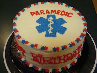 paramedic birthday cakes
