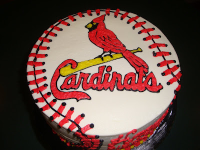 cardinals birthday cake