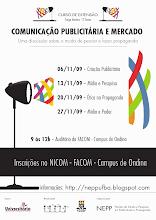 """Curso de Extensão """"Comunicação Publicitária e Mercado"""""""