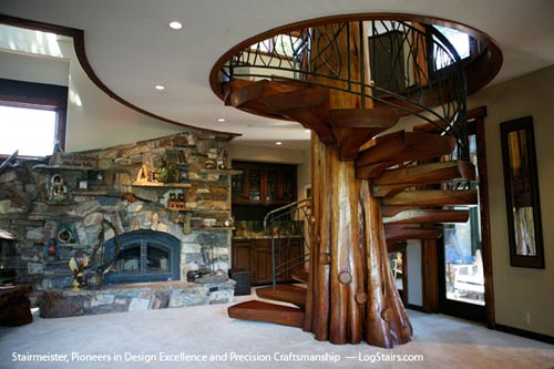 Spiral Staircase Tree Trunk