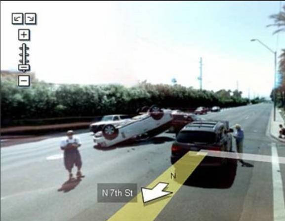 Imágenes Graciosas de Google Street view [Megapost