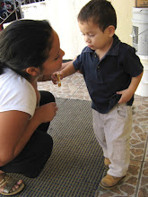 Mateo and one of his favorite nannies