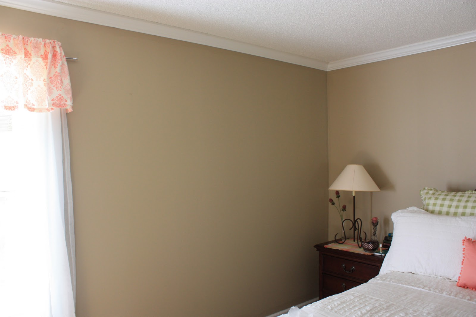 Homestead master bedroom filling a blank wall for Four blank walls