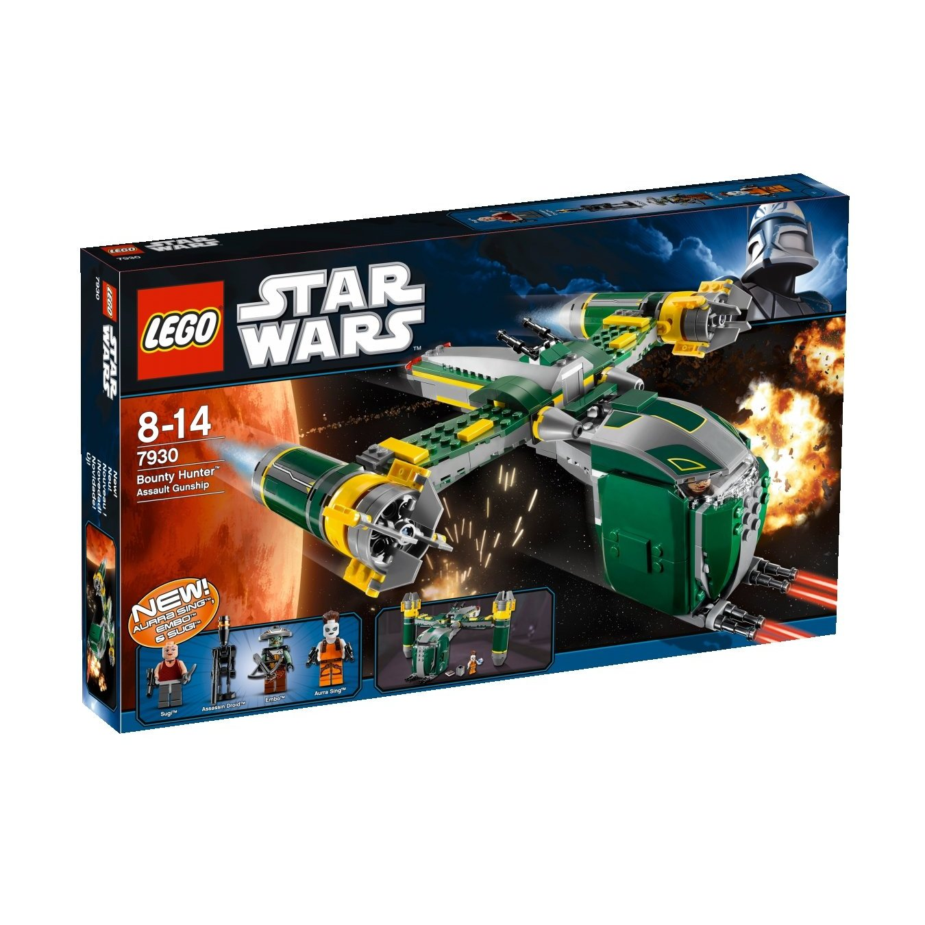 LEGO set database 7930 bounty