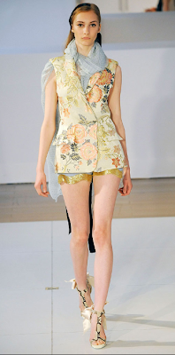 Hanna Rundlof at Alexis Mabille @ the fashion escapist