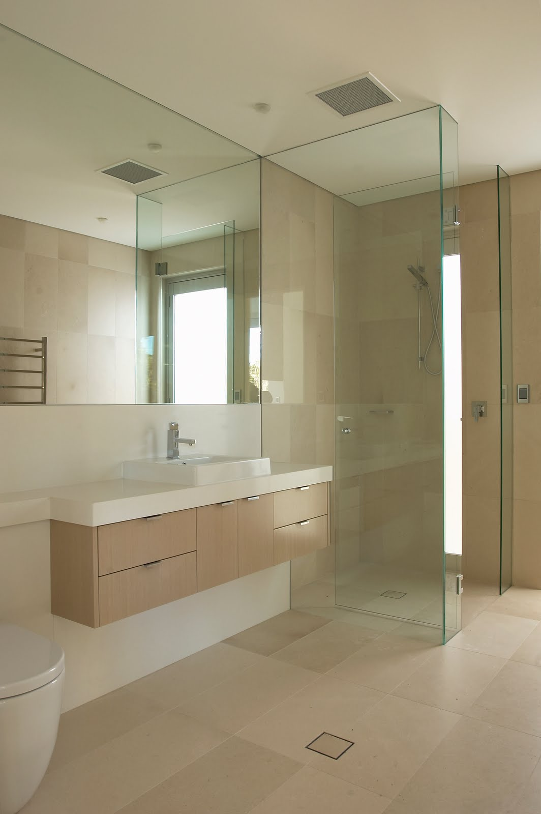 Beautiful Simple Bathrooms 2 beautifully simple limestone bathrooms | byzantine design