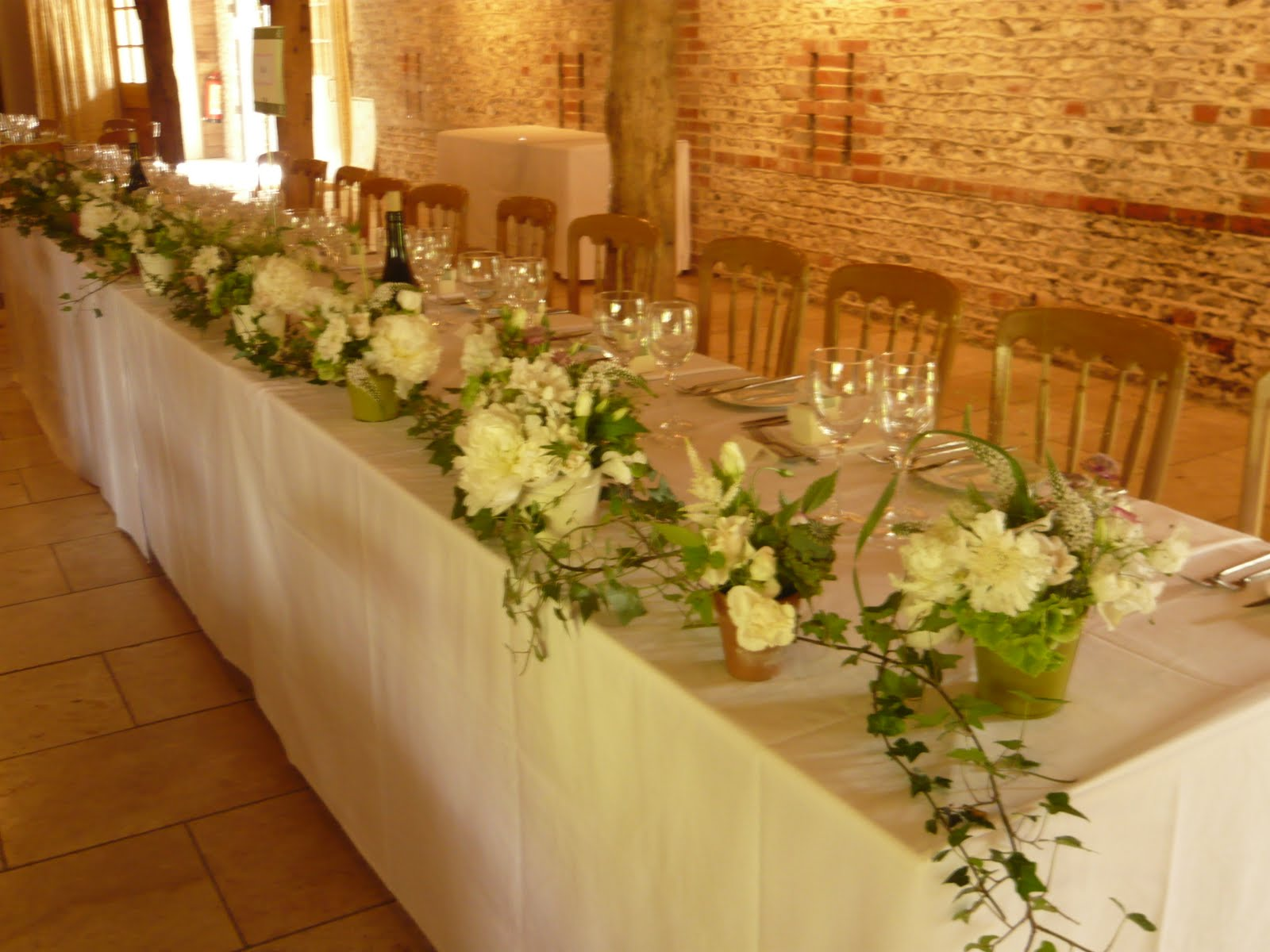 Alternative To Long And Low Arrangements Wedding Forum You