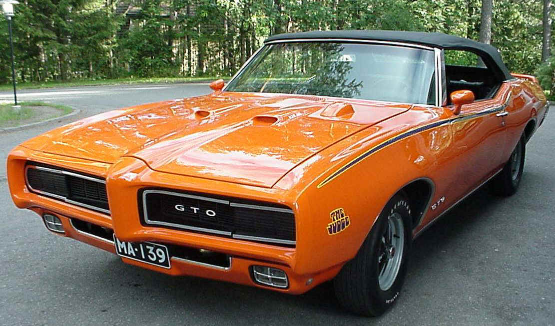 GTO Judge Muscle Car