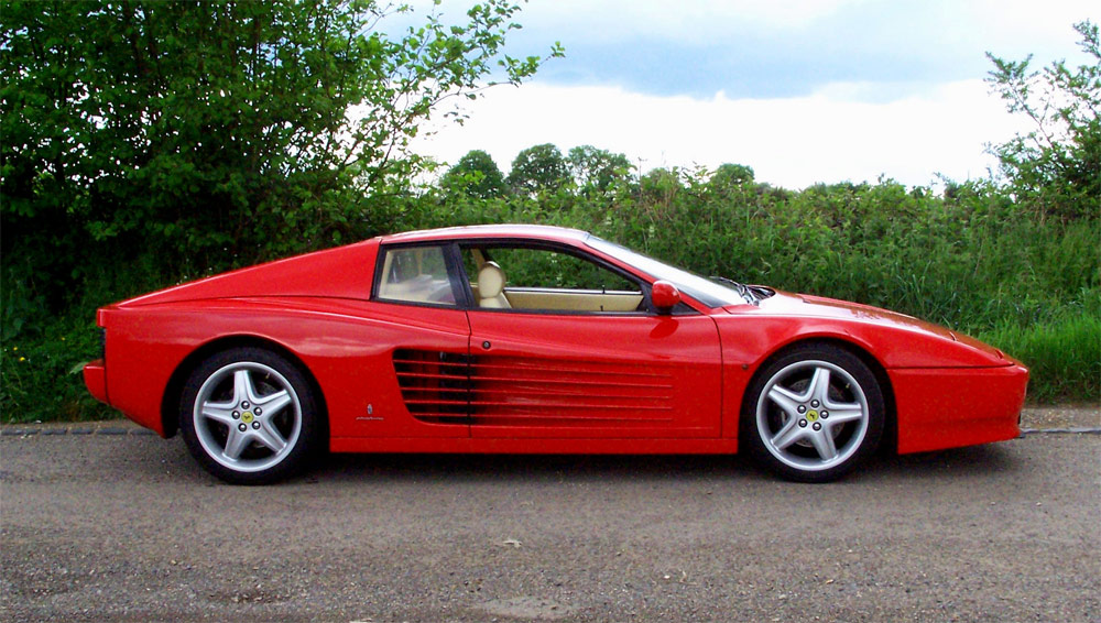Classic Cars Ferrari Testarossa