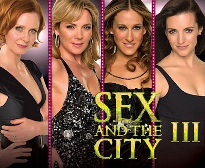 that a third sex and the city movie was being shot alongside the