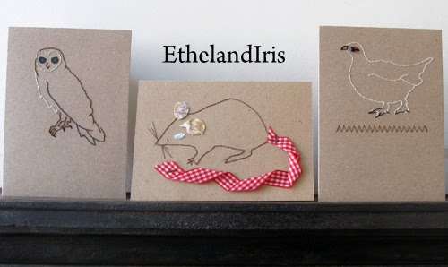 Ethel & Iris make and mend