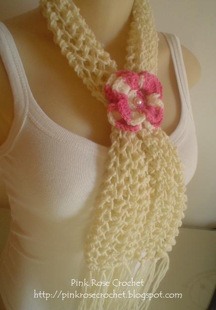 Схемы вязания шарфов