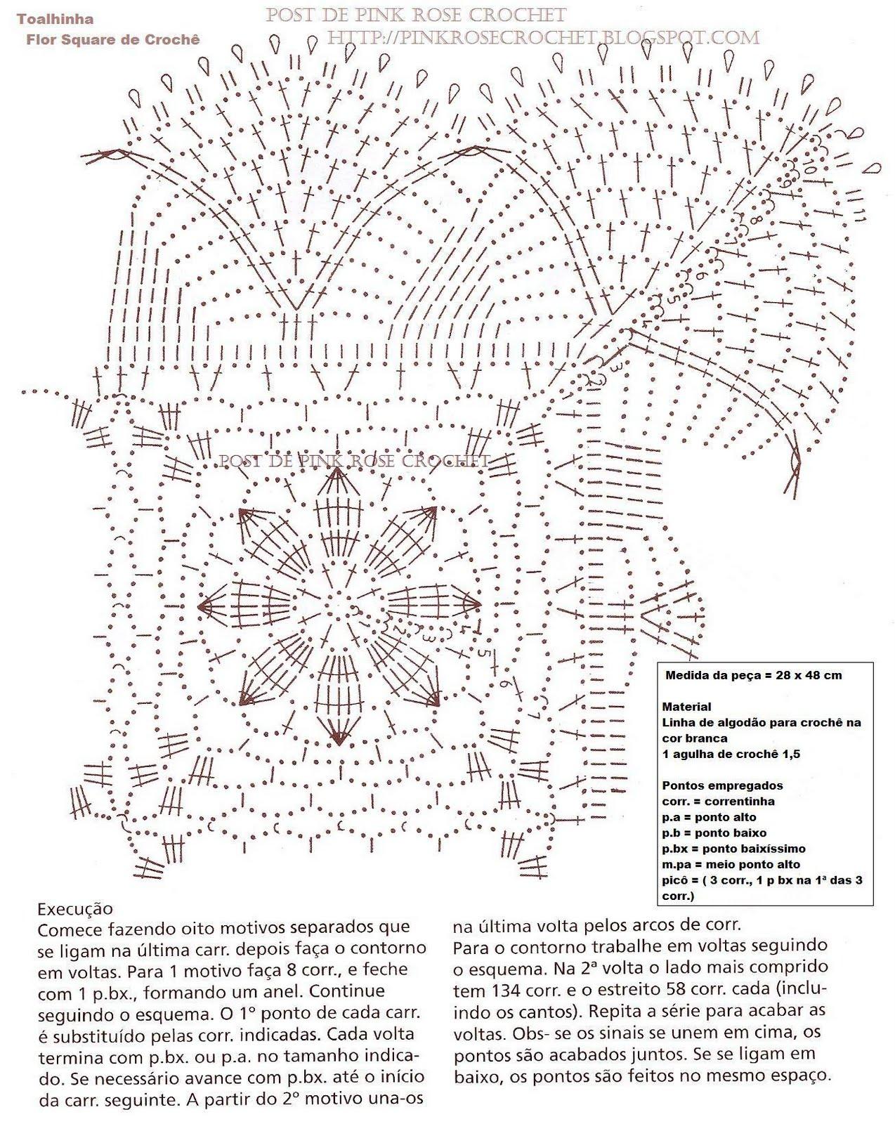 Flores tejidas a crochet de Leticia Interesante - imagenes de flores tejidas a crochet