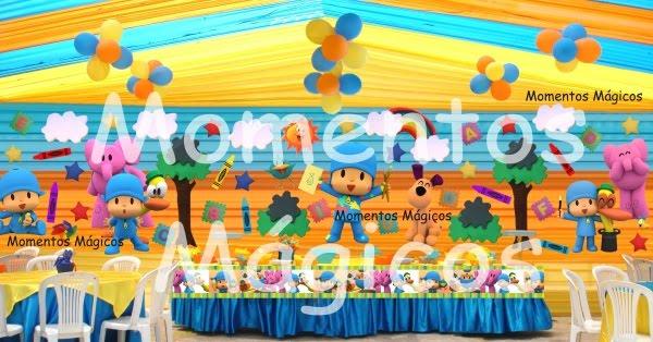 Decoraciónes de fiestas de pocoyo - Imagui