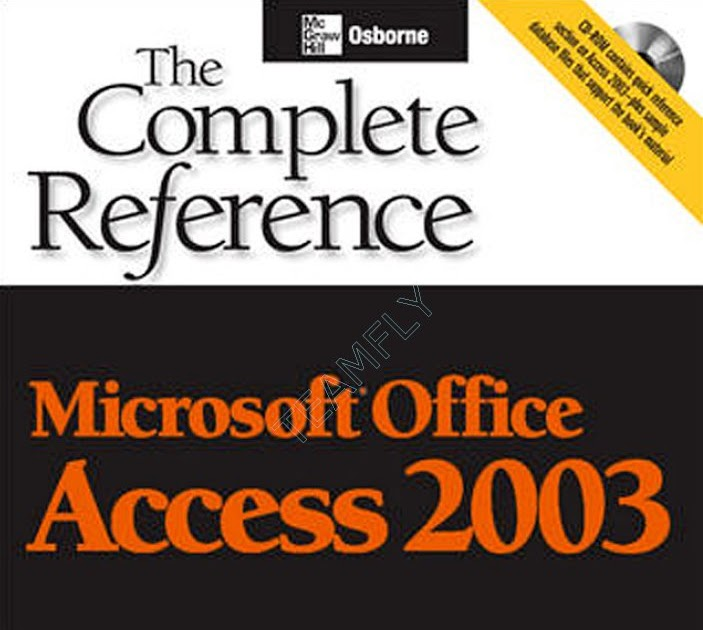 book download  microsoft office access 2003 the complete