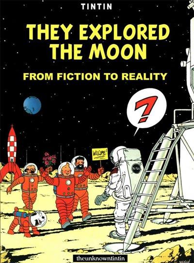 Tim Struppi 3 Gratis Malvorlage In Comic: Book Download: Tintin They Explored The Moon