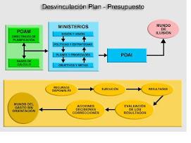 DESVINCULACION PLAN-PRESUPUESTO
