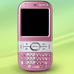 New pink Palm Centro smartphone