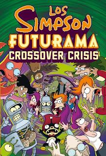 Cubierta estuche Los Simpsons - Futurama