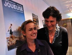 Echecs & Cinéma : Sandrine Bonnaire hier à Guéret