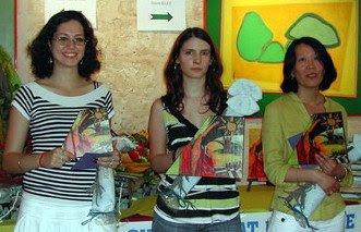 Natacha Pauline et Roza - crédits photo FFE