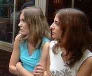 Mathilde Choisy et Pauline Guichard
