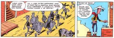 Lucky Luke de Morris et Goscinny