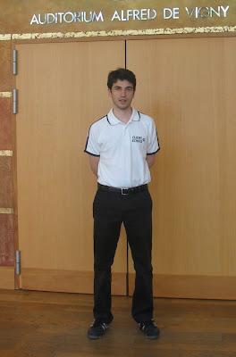Laurent Fressinet au Championnat de France d'échecs 2008 © Chess & Strategy