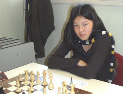 Salomé Neuhauser, championne d'Europe d'échecs de moins de 14 ans