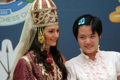 Le championnat du monde d'échecs féminin à Nalchik