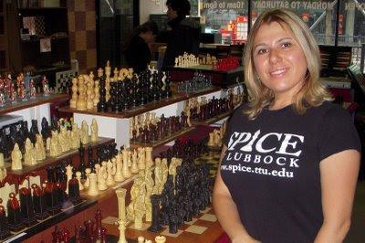 La quadruple championne du monde d'échecs Susan Polgar
