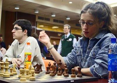 Maxime Vachier-Lagrave et Marie Sebag seront présents aux rencontres d'échecs du Cap d'Agde - photo Chessbase