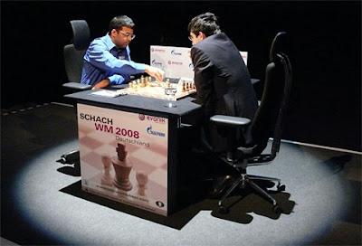 Le championnat du monde d'échecs 2008 à Bonn - photo Chessbase