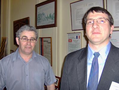 Emmanuel Variniac et Franck Taro - photo Chess & Strategy