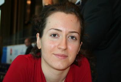 Irina Krush (2452), premier échiquier de l'équipe américaine