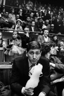 Bobby Fischer, photographié par Carl Mydans (LIFE 1962).