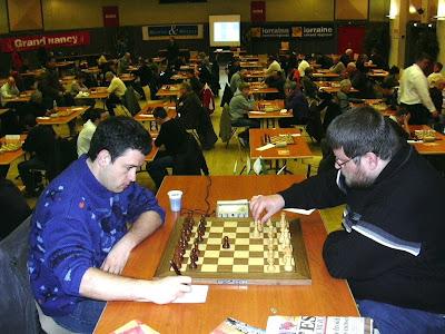 ronde 5: GMI Bauer (n°5 français) - MI Haub (le vainqueur 2007)
