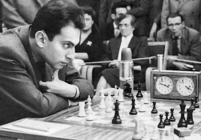 Mikhail Tal - photo ChessBase