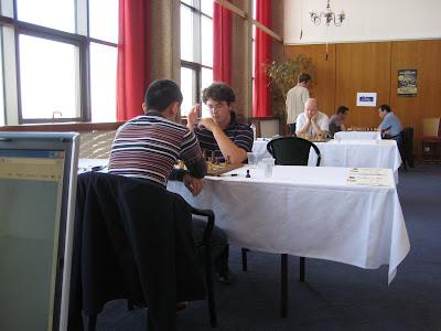 La salle de jeu du Master au Casino de Dieppe © Chess & Strategy