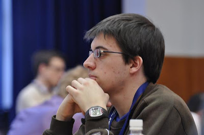 Maxime Vachier-Lagrave, champion du monde junior 2009 © Site Officiel