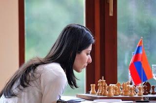 La joueuse d'échecs arménienne Lilit Mkrtchian © site officiel