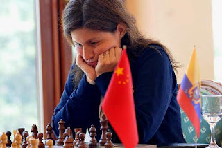 Echecs en Arménie : Martha Fierro Baquero  championne d'échecs équatorienne © site officiel