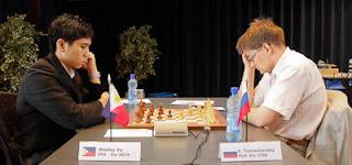 Echecs à Bienne : nulle entre Evgeny Tomashevsky et Wesley So © site officiel