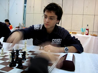 Echecs à Créon : Maxime Lagarde © Chess & Strategy